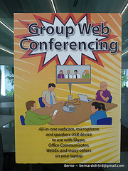 Poster about group web conference
