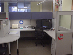 Small cubicle in one corner of the house